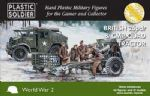 61020 WW2G15006 Plastic Soldier Company 15mm Scale 25 pdr gun and CMP Quad Tractor (4++)